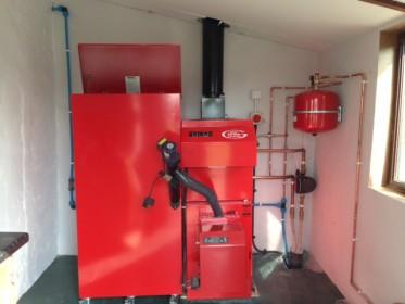 A Biomass Boiler Installation