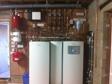 A Ground Source Heat Pump Installation
