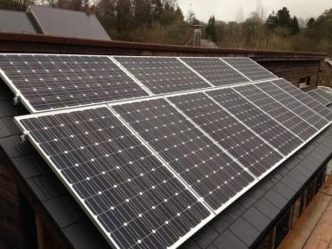 A Solar PV Installation