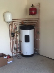 Cylinder and Pipework